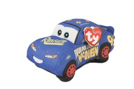 Ty Cars 3 Fabulous Lightning McQueen Plush Toy New With Tags Disney Pixar - $11.02