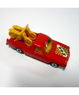 Vintage 1977 Lesney Matchbox No 60 Holden Pickup with Motorcycles with 5... - $19.99