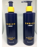 2 Gillette Enrich Beard and Face Wash for Men 7.3 Fl Oz Bs09 - $15.88