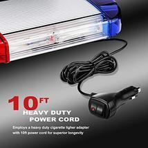126 LED Strobe-Warning-Lights-Bar 12V Rotation Flashing Beacon Emergency Light M image 5