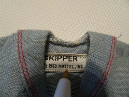 Skipper doll shirt, Vintage 1963 - $2.00