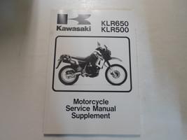 1987 2007 Kawasaki KLR650 KLR500 Motorcycle Service Manual Supplement x - $55.43