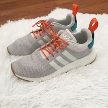 Adidas Boost Mens Sneakers Shoes Size 9 Outlast Striped Gray - $59.40