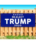 RE-ELECT DONALD TRUMP 2020 Advertising Vinyl Banner Flag Sign Many Sizes - $14.24+
