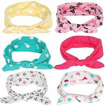 TRIXES Pack of 6 Adorable Baby Girl and Toddler Headbands Unique Designs - $7.99