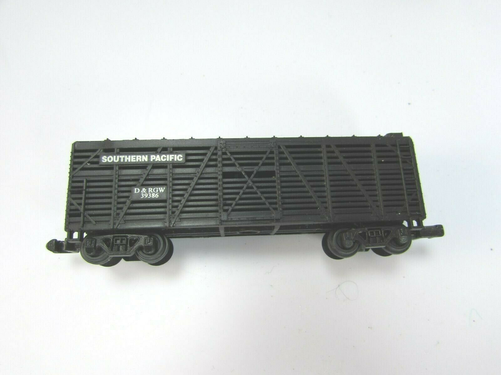 High Speed Metal Products Southern Pacific Black Stock Car N Gauge 30122 image 2