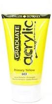 Daler-Rowney Graduate Acrylic Paint (Primary Yellow) 3 pcs sku# 1846514MA - $30.84