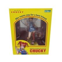Kotobukiya Horror Bishoujo Statue Chucky Bride of Chucky Authentic Actio... - $260.00