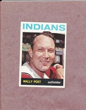 1964 Topps # 253 Wally Post Cleveland Indians Nice Card - $2.99