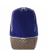 Louis Vuitton Marc Newson Backpack Monogram Blue fleece bag M40276 - $3,752.10