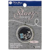 Blue Moon Beads SLKCHRM-245 Story Lockets Metal Charm, Travel, Assortmen... - $4.87