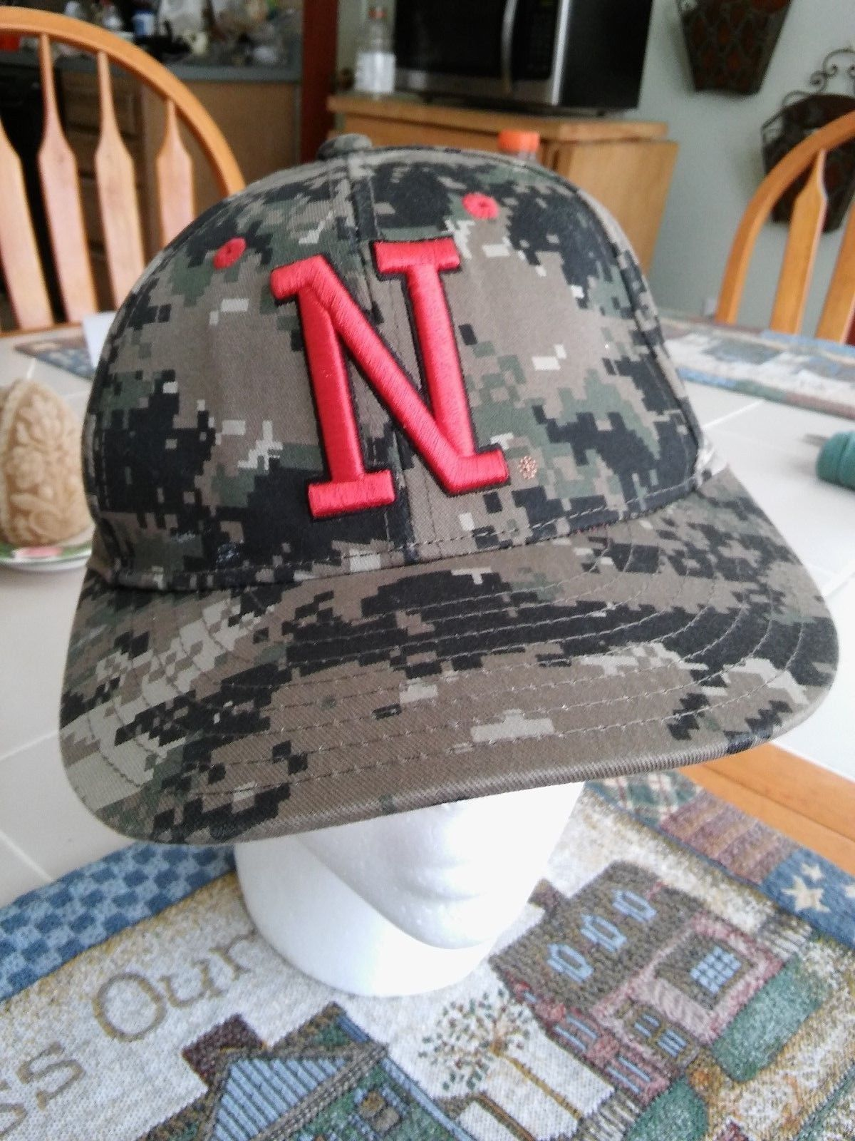 30d430ca Nebraska Cornhuskers Huskers Hat 7 1/8 Camo and 50 similar items. 57