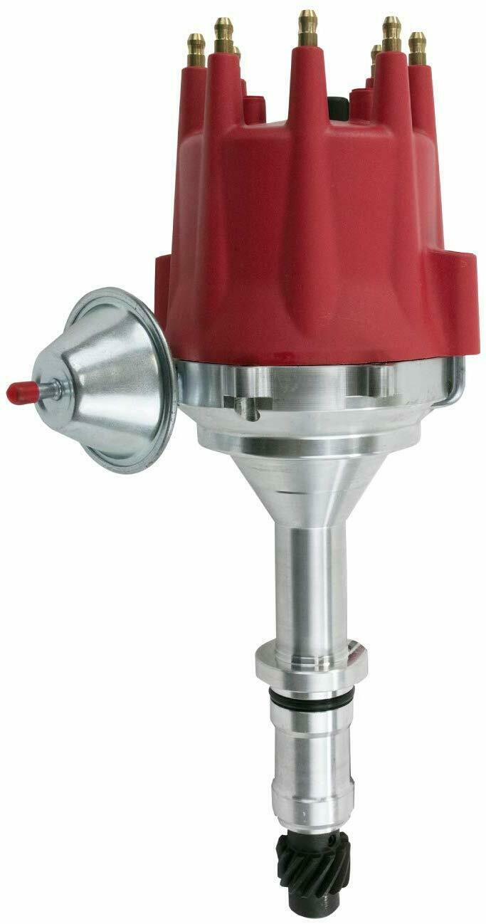 Pro Series R2R Distributor for Buick BB 400 430 455, V8 Engine Red Cap