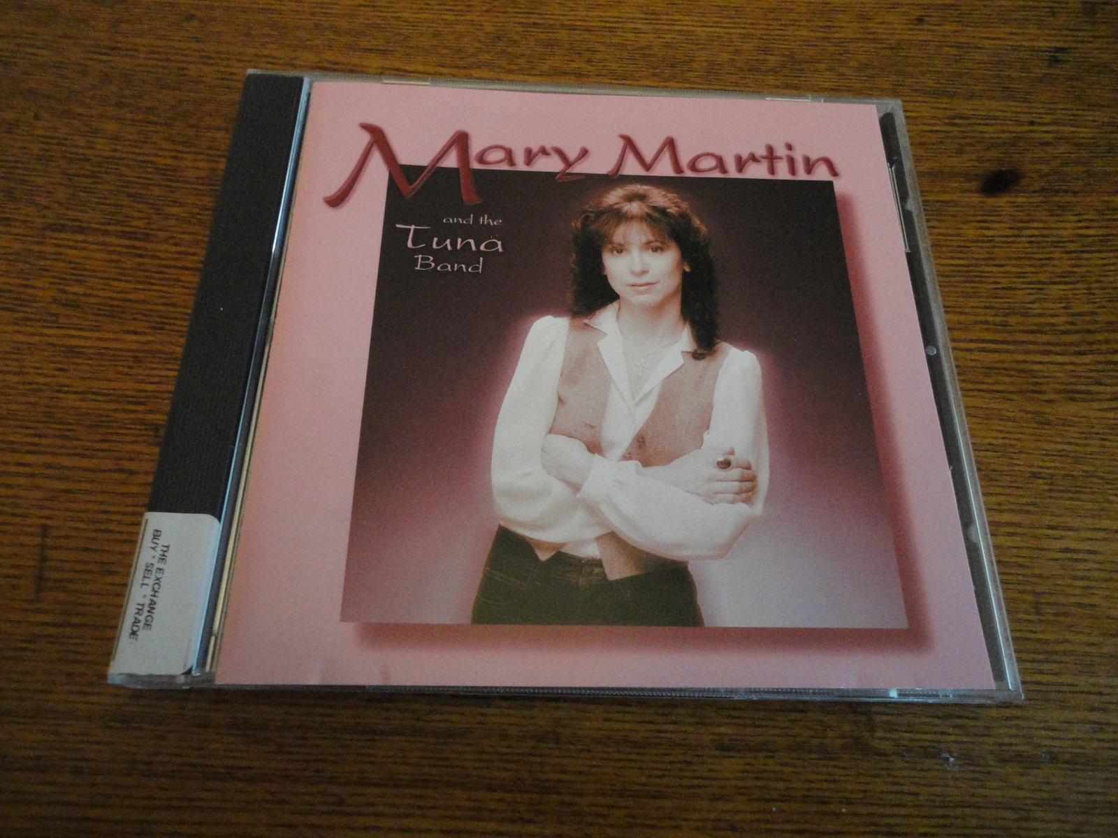 CD Mary Martin and the Tuna Band s/t classic Cleveland blues jazz reissue 2002