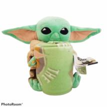 NEW Star Wars Mandalorian The Child Character Plush and Fleece Throw Set - $28.99