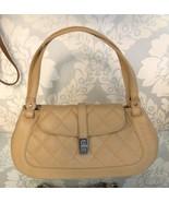 CHANEL Beige Quilted Leather Shoulder Bag - $2,375.01