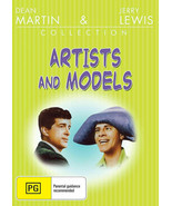 ARTISTS AND MODELS  Dean Martin, Jerry Lewis, Shirley MacLaine Comedy AL... - $16.90