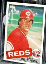 1985 Topps Pete Rose #18-MGR Reds  AA20-BTC3032 Baseball Trading Cards # 600 image 5
