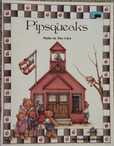 Pipsqueaks Made in USA By Kathi Walters Pen & Ink Patriotic Tole Painting Book. - $5.98