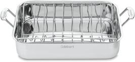 Cuisinart 7117-16UR Chef's Classic Stainless 16-Inch Rectangular Roaster... - $63.99