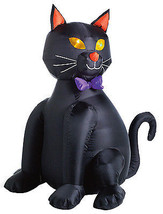 Halloween Inflatable Lawn Decoration, Black Cat, Lighted, 48-In. - $34.64