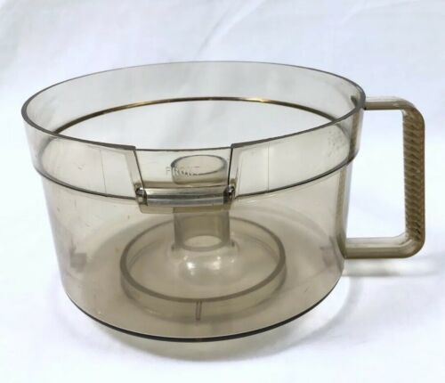 Primary image for Amber Work Bowl Vtg General Electric Food Processor D1FP1B Replacement