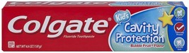Colgate Kids Cavity Protection Toothpaste, Bubble Flavor, 4.6 Ounce - $5.13