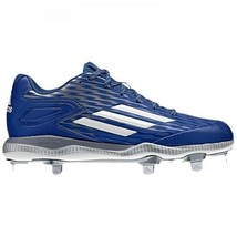 adidas Mens Power Alley 3 Metal Blue Baseball Softball Cleats S84763 Siz... - $33.25