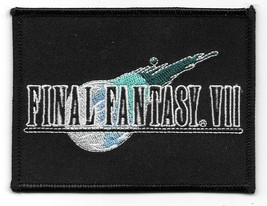 Final Fantasy VII Video Game Name Logo Embroidered Patch NEW UNUSED - $7.84