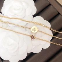 Auth Christian Dior SET DIO(R)EVOLUTION J'ADIOR TRIPLE CRYSTAL GOLD BRACELET image 4