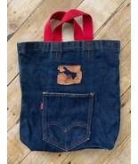 Vintage Levis 501 Denim Tote Bag Purse Now! Designs San Francisco Small ... - $138.10