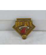 Miami Heat Pin (VTG) - Stamped Pin with Team Logo - Peter David - $19.00