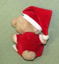 "10"" Vintage ENESCO PJ TEDDY Plush Bear BABY'S FIRST CHRISTMAS Stuffed KOREA RARE image 7"