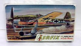 Airfix~1223~1:72~Focke Wulf Fw-190D~WW2 German Fighter~Sealed Model Plan... - $14.00