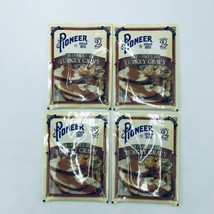 4 Pioneer Roasted Turkey Gravy Mix Makes 2 Cups 1.41 oz Each New Exp 11/21 - $10.99