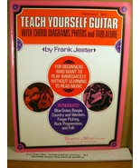Teach Yourself Guitar By Frank Jester 1971 - $7.19