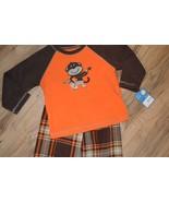Boys Carter's Fleece Shirt & Pants 2 Piece Pajamas Set ~Monkey ~ Super-C... - $15.79