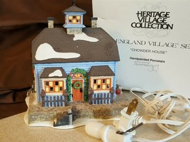 Dept 56 New England Village 1995 CHOWDER HOUSE 56571 Retired 1998 - $19.95