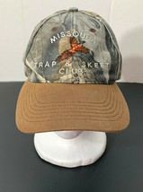 Missoula Trap & Skeet Club Realtree Hardwoods Camo Hat Cap Adjustable St... - $14.65