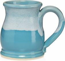 Light Blue and White 16oz Potbelly Mug - $49.00