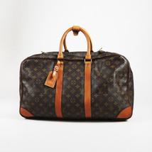 "VINTAGE Louis Vuitton Brown Monogram Canvas & Leather ""Sirius"" 50 cm Lug... - $805.00"