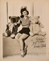 PAMELA BLAKE Autographed SIGNED VINTAGE 8x10 PHOTO 1942 MAISIE GETS HER ... - $119.99
