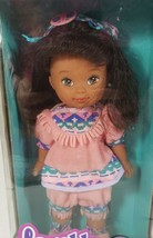Mattel Lovable Babies LI'l FEATHER Native American Girl Doll dated 1993 NIB - $24.99