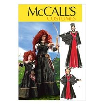McCall Pattern Company M6817 Misses'/Children's/Girls' Costumes Sewing Template, - $14.21