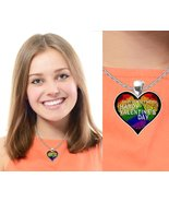 To My Perfect Match - Rainbow Valentine's Day Necklace Best Valentines P... - $19.95