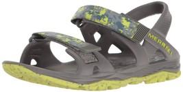 Merrell Hydro Drift Water Sandal, BOYS , Grey/Lime MY56493 SIZE 05 M - $473,51 MXN