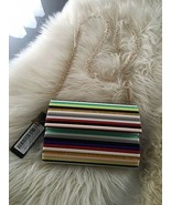 Rare Audreigh Multi Striped Acrylic Clutch - Lulus Truly Gorgeous! - $29.70