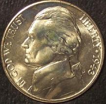 1943-D Silver Jefferson Nickel Gem Details #01065 - $5.99