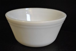 "Federal Glass 6"" Milk Glass bowl - $5.89"
