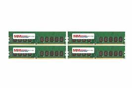 MemoryMasters 32GB (4x8GB) DDR4-2666MHz PC4-21300 ECC UDIMM 2Rx8 1.2V Un... - $273.23